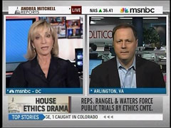 Andrea Mitchell and John Harris, MSNBC's