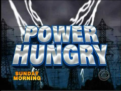 Power Hungry Graphic, CBS