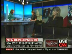 Suzanne Malveaux, CNN Correspondent; Gloria Borger, CNN Senior Political Analyst; & Christine O'Donnell. Republican Candidate for U.S. Senate in Delaware | NewsBusters.org