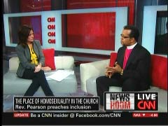Kyra Phillips, CNN Anchor; & Bishop Carlton Pearson, Televangelist | NewsBusters.org