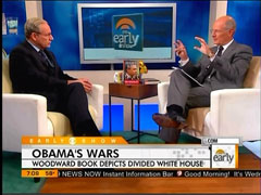 Harry Smith and Bob Woodward, CBS