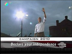 Declare your independence, CBS
