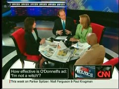 Katrina Vanden Heuvel, The Nation; Eliot Spitzer, CNN Host; Kathleen Parker, CNN Host; & Reihan Salam, National Review | NewsBusters.org