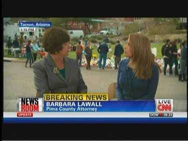 Barbara LaWall, Pima County, Arizona Attorney; & Jessica Yellin, CNN Correspondent | NewsBusters.org