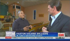 Pastor Valerie Williams, St. Luke's Community Church, Jacksonville, Florida; & David Mattingly, CNN Correspondent | NewsBusters.org