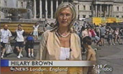 ABC's Hilary Brown in London