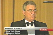 New York Times Executive Editor Howell Raines