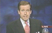 CNBC anchor Brian Williams