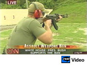 CNN's distorted rifle comparison