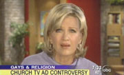Good Morning America's Diane Sawyer