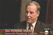 Gov. Howard Dean