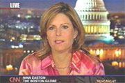 Boston Glob Washington Bureau Chief Nina Easton