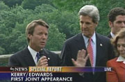 John Kerry's Vice Presidential selection John Edwards