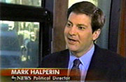 ABC's Political Director Mark Halperin