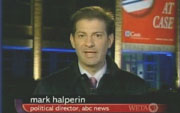 ABC News Political Director Mark Halperin