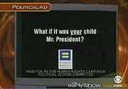 30-second anti-Bush ad
