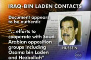 Iraq-Bin Laden Contacts