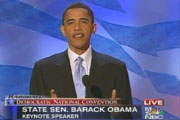 DNC keynote speaker Barack Obama