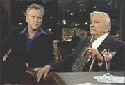 Actor Tim Robbins & Author Gore Vidal