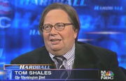 Washington Post TV critic Tom Shales