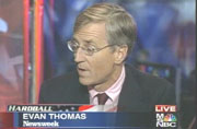 Evan Thomas on MSNBC's Hardball