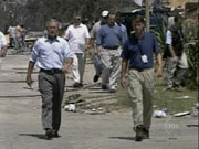 ABC's Terry Moran & President George W. Bush