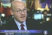 CBS News legal analyst Andrew Cohen