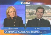 NBC's Katie Couric & Father Thomas Williams