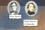 Abraham Lincoln & Joshua Speed