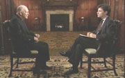 Cardinal Theodore McCarrick & ABC's George Stephanopoulos