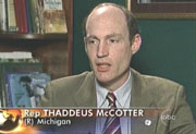 Michigan Congressman Thaddeus McCotter