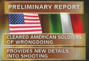 NBC on-screen: Preliminary Report