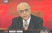 Columnist Robert Novak