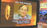 Boston Globe columnist Tom Oliphant