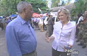 ABC's Diane Sawyer & Colin Powell