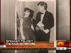 Nancy Pelosi Teenager ABC & NBC Hail ...