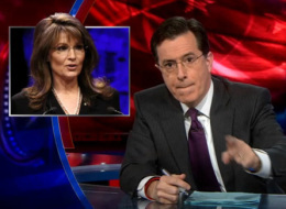 Stephen Colbert Says 'Sarah Palin Is A F**king Retard'