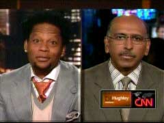 D. L. Hughley, CNN Host; & Michael Steele, Republican National Commitee Chairman | NewsBusters.org