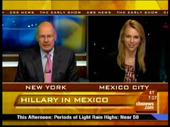 Harry Smith and Lara Logan, CBS