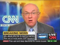 Bill Schneider from 4/28/2009 CNN Newsroom | NewsBsters.org