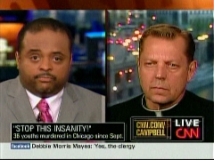 Roland Martin, CNN Anchor; & Father Michael Pfleger, Archdiocese of Chicago | NewsBusters.org
