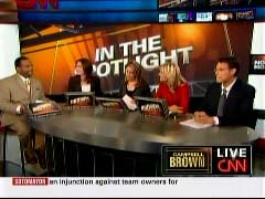 Roland Martin, CNN Anchor; Erica Hill, CNN Correspondent; Jessica Yellin, CNN Correspondent; Lisa Bloom, TruTV host; & Steve Kornacki, New York Observer Columnist | NewsBusters.org