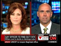 Kyra Phillips, CNN Anchor; & Lt. Colonel Victor Fehrenbach, U.S. Air Force | NewsBusters.org