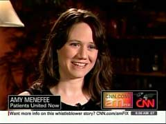 Amy Menefee, Patients United Now | NewsBusters.org