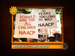 NAACP Protest, CBS