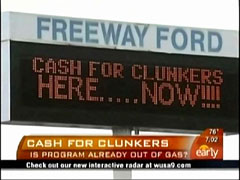 Cars for Clunkers, CBS