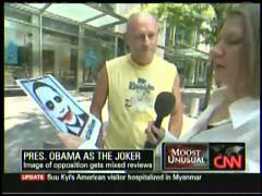 Unidentified male resident of New York City; & Jeanne Moos, CNN Correspondent | NewsBusters.org