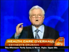 Ted Kennedy, CBS