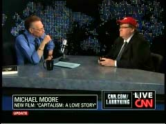 Larry King, CNN Anchor; & Michael Moore, Film Director | NewsBusters.org