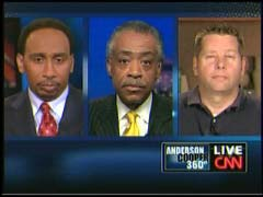 Stephen A. Smith, columnist; Al Sharpton, National Action Network; & McGraw Milhaven, Talk Show Host | NewsBusters.org